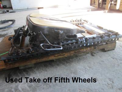 Used Take off Fifth Wheels